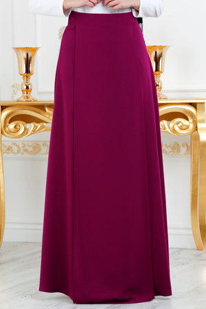 Women's Long Damson Skirt