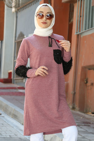 Women's Sequin Modest Tunic