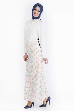Women's Long Patterned Skirt