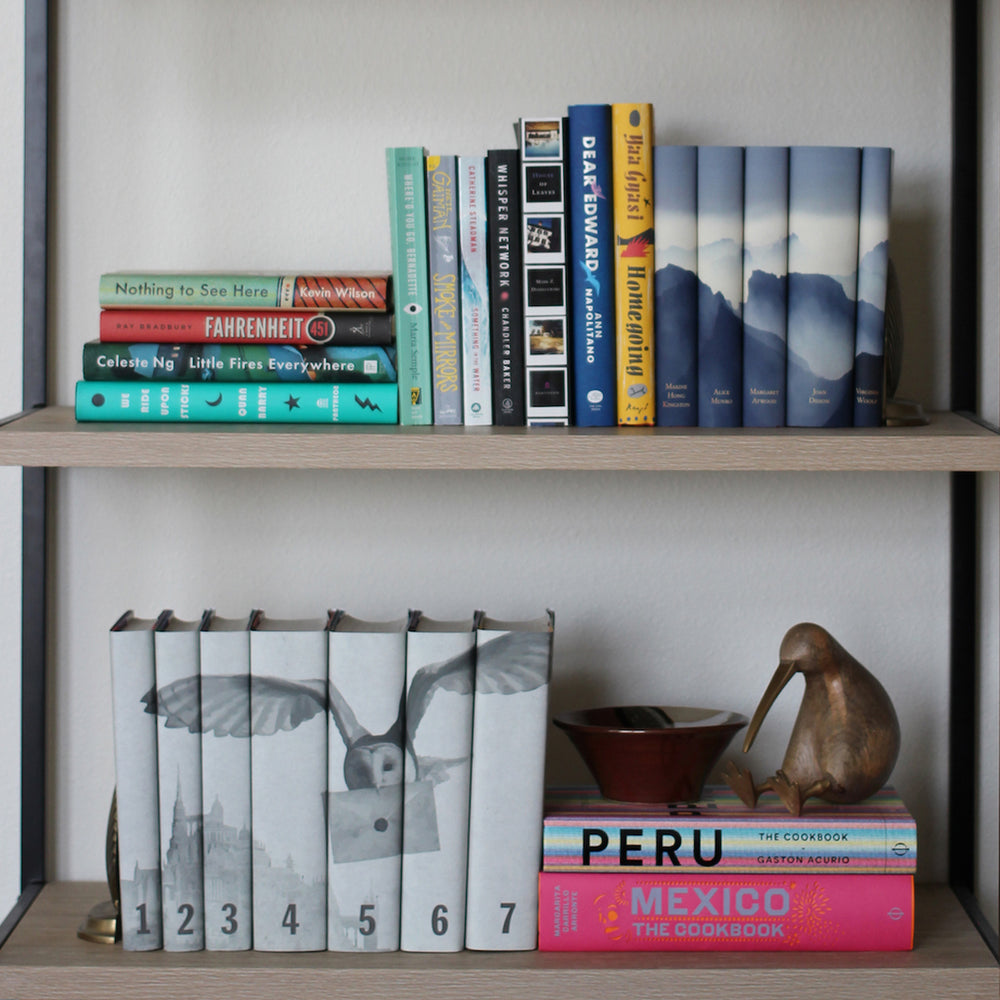 Styling Your Bookshelves - A Step by Step Guide