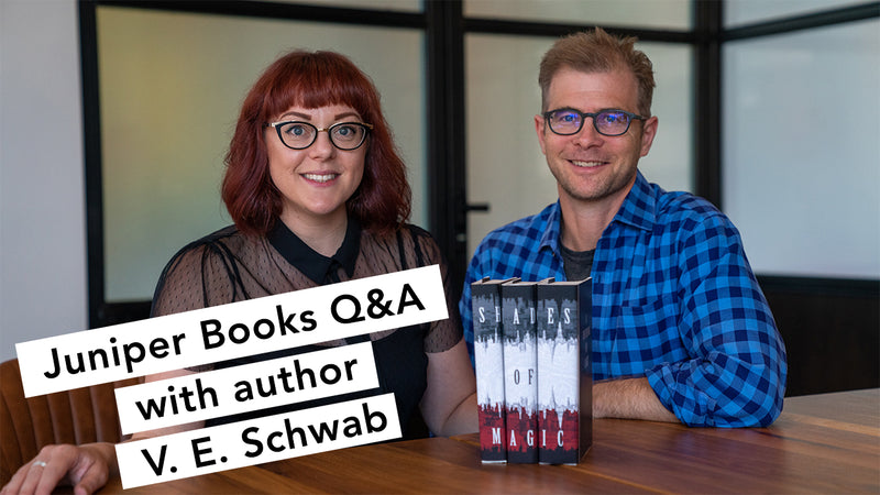 Q&A with V.E. Schwab