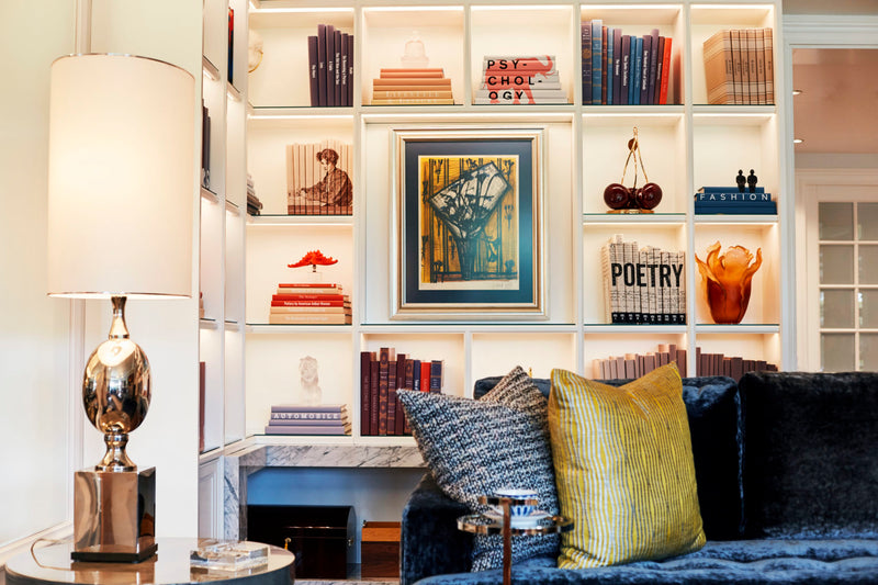 Tips and Tricks for Styling your Bookshelf
