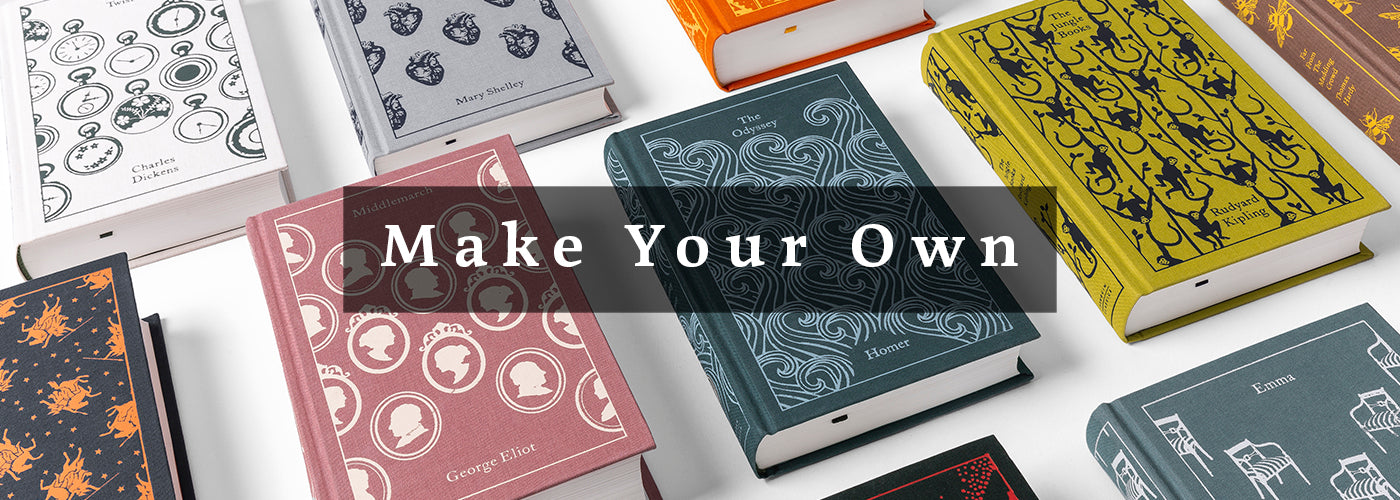 Banner for Curate your own book set from our growing collection of Make Your Own options