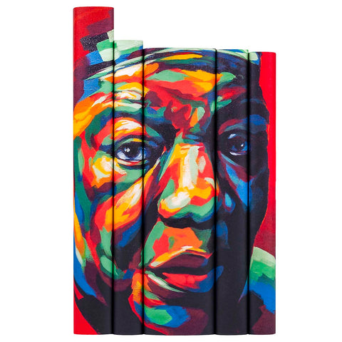 Maya Angelou Book Set from Juniper Books with art by Thomas Evans aka Detour