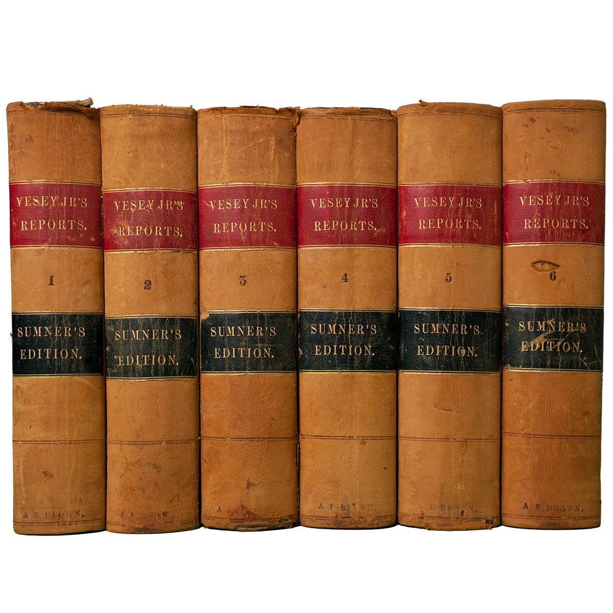 Antique Leather Law Books