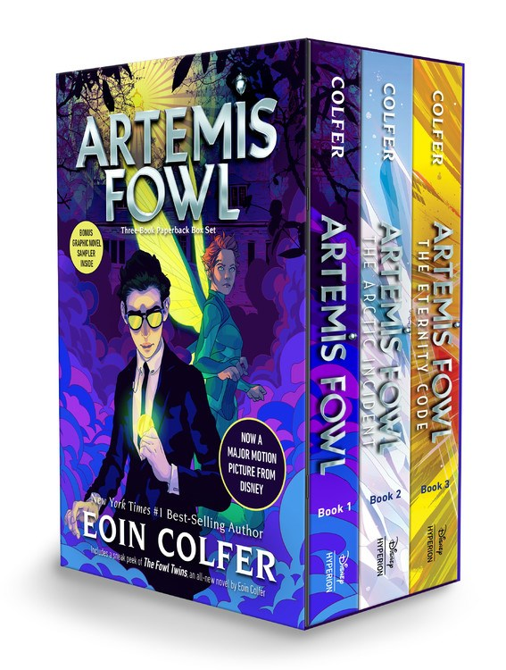 Publisher Boxed Set: Artemis Fowl 3 Book Collection