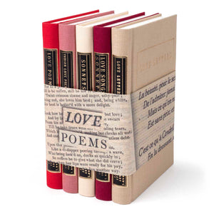 Love Poems Book Set