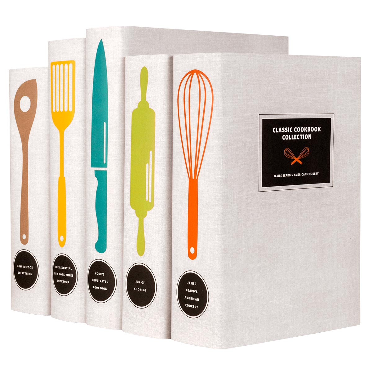 Classic Cookbooks - Utensils Set