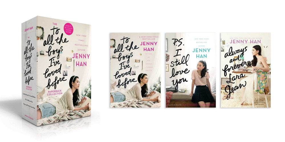 Publisher Boxed Set: To All the Boys I've Loved Before 3 Book Collection