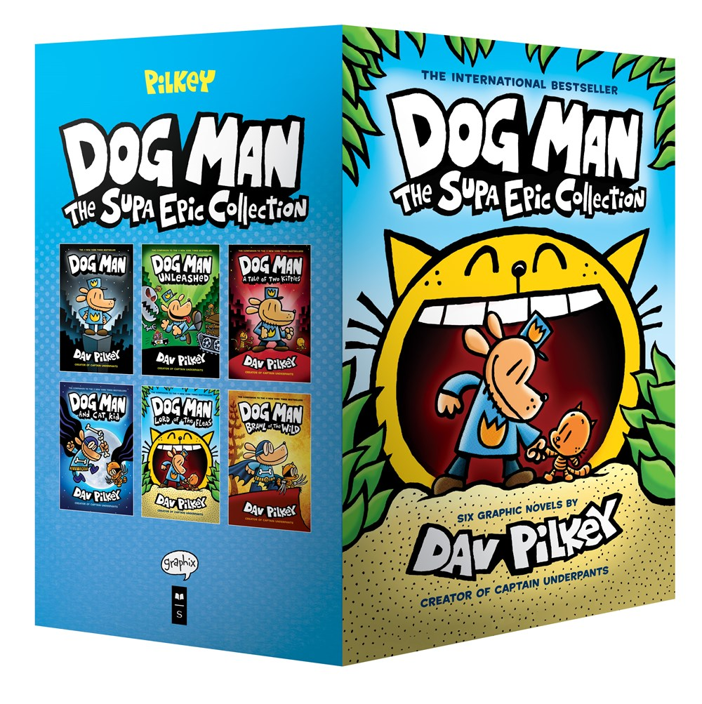 Publisher Boxed Set: Dog Man: The Supa Epic Collection 6