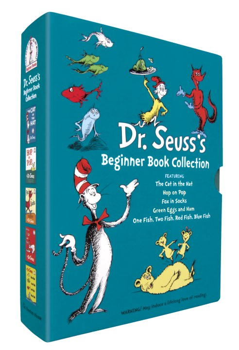 Publisher Boxed Set: Dr. Seuss's Beginner Books 5 Book Collection