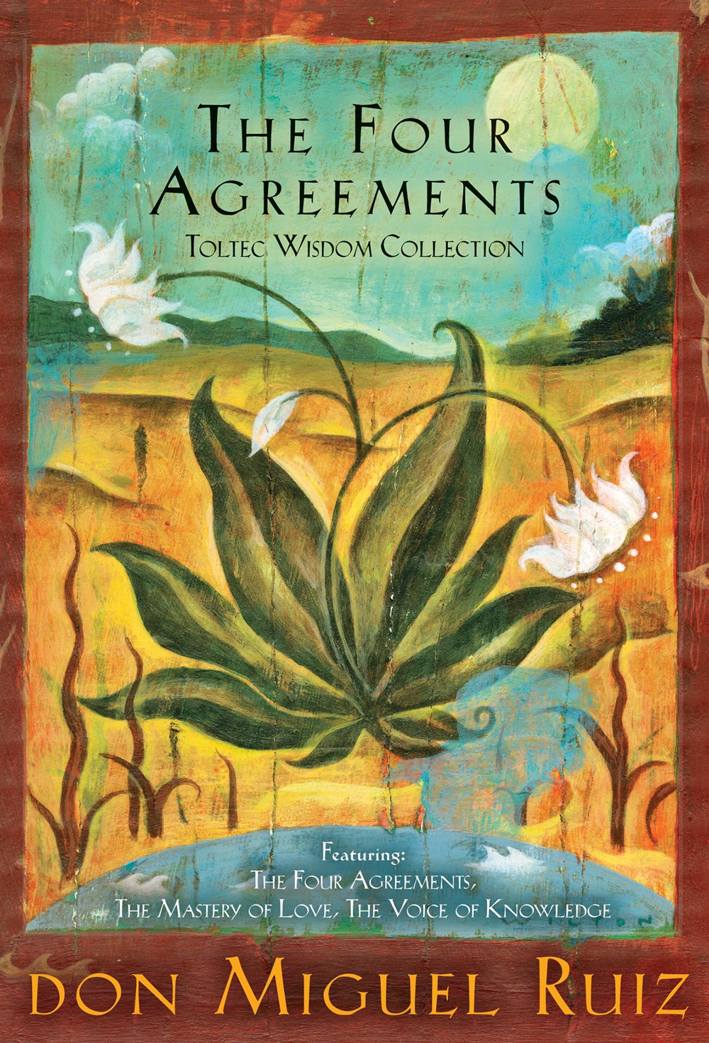 Publisher Boxed Set: The Four Agreements Toltec Wisdom 3 Book Collection