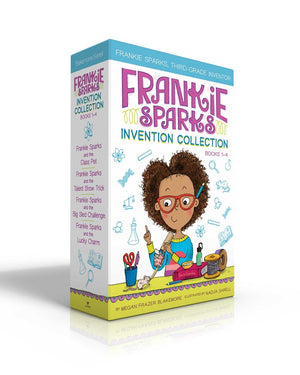 Publisher Boxed Set: Frankie Sparks Invention 4 Book Collection