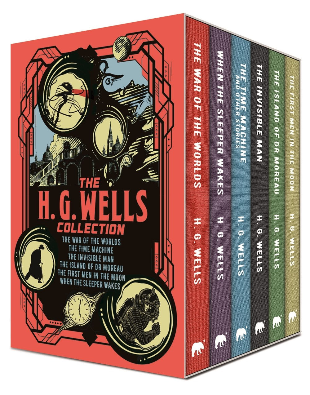Publisher Boxed Set: The H. G. Wells Collection 6 Book Collection