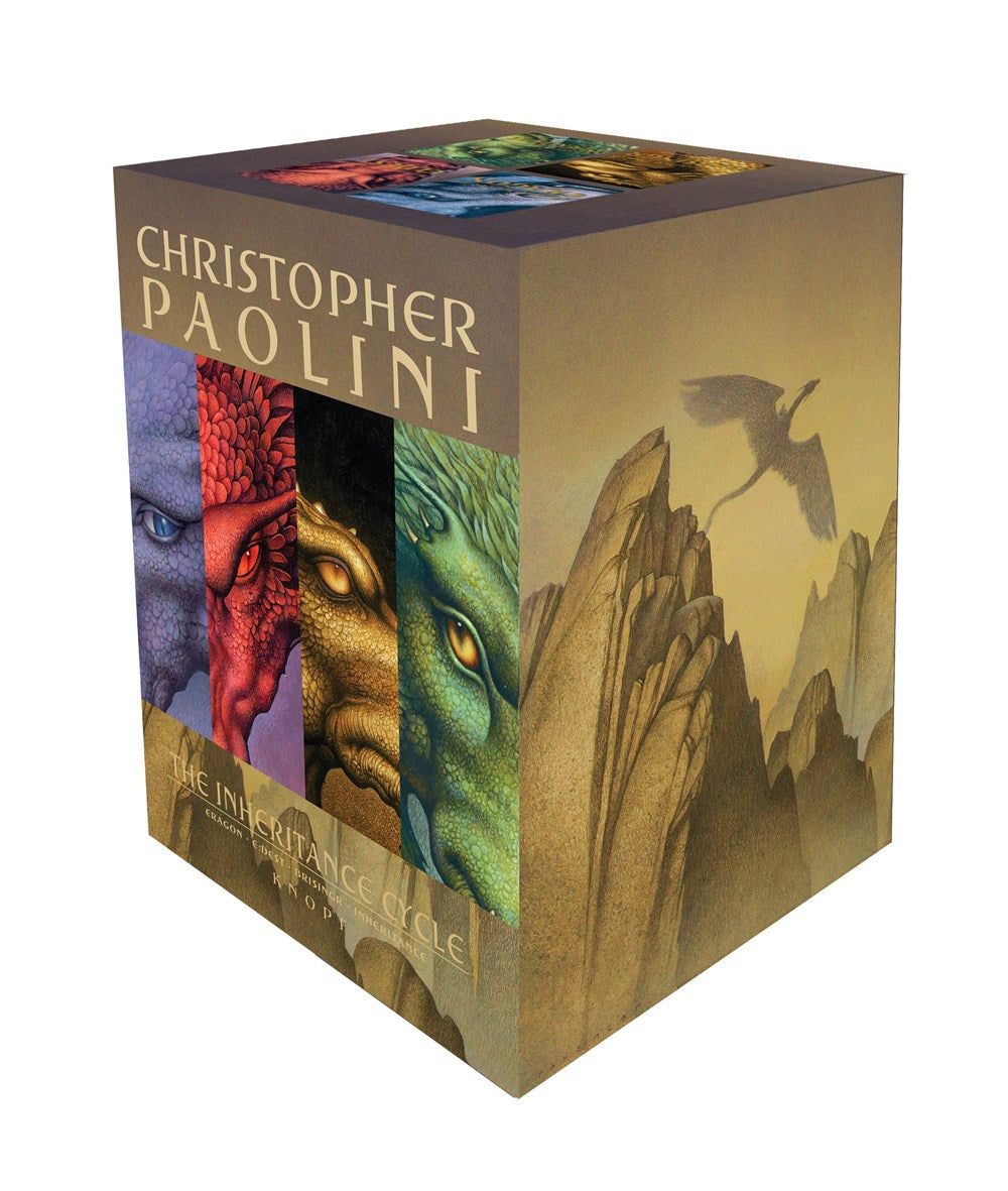 Publisher Boxed Set: Inheritance Cycle 4 Book Collection
