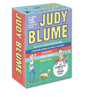 Publisher Boxed Set: Judy Blume Fudge 5 Book Collection