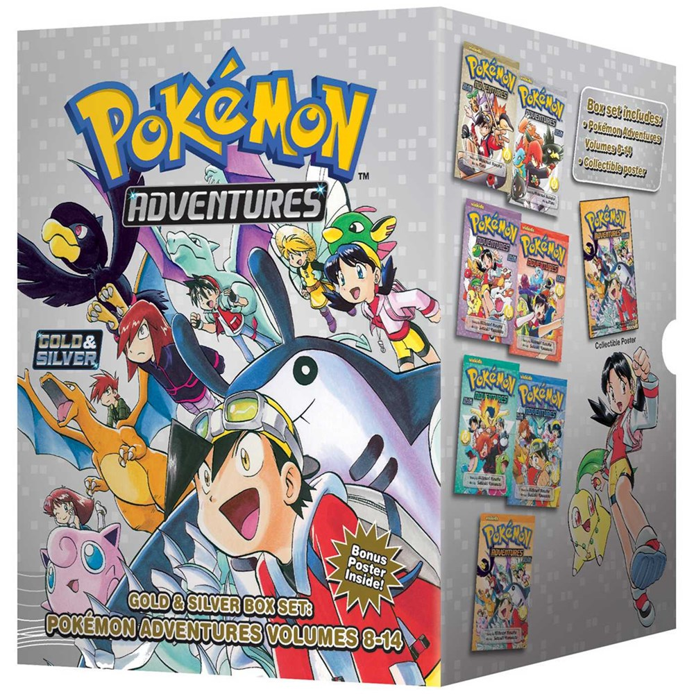 Publisher Boxed Set: Pokemon Adventures Gold & Silver Box Set (Vol. 8-14)