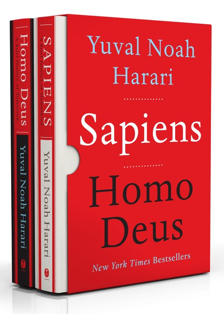 Publisher Boxed Set: Yuval Noah Harari 2 Book Collection