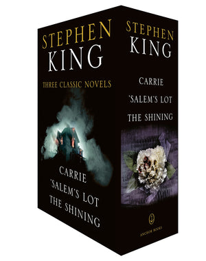 Publisher Boxed Set: Stephen King Three Classic Novels 3 Book Collection