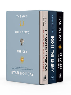 Publisher Boxed Set:  The Way, the Enemy, and the Key 3 Book Collection