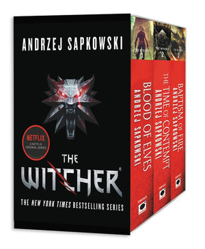Publisher Boxed Set:  The Witcher Boxed Set 3 Book Collection