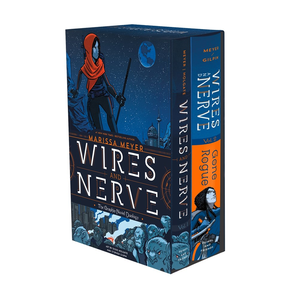 Publisher Boxed Set:  Wires and Nerve: The Graphic Novel Duology 2 Book Collection