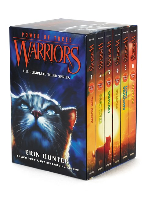 Publisher Boxed Set:  Warriors: Power of Three 6 Book collection