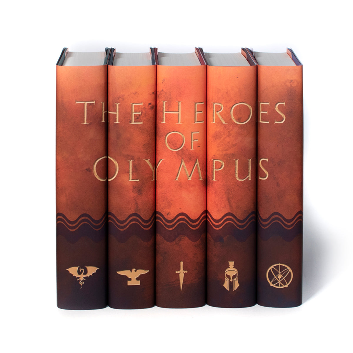 The Heroes of Olympus Jackets Only Set