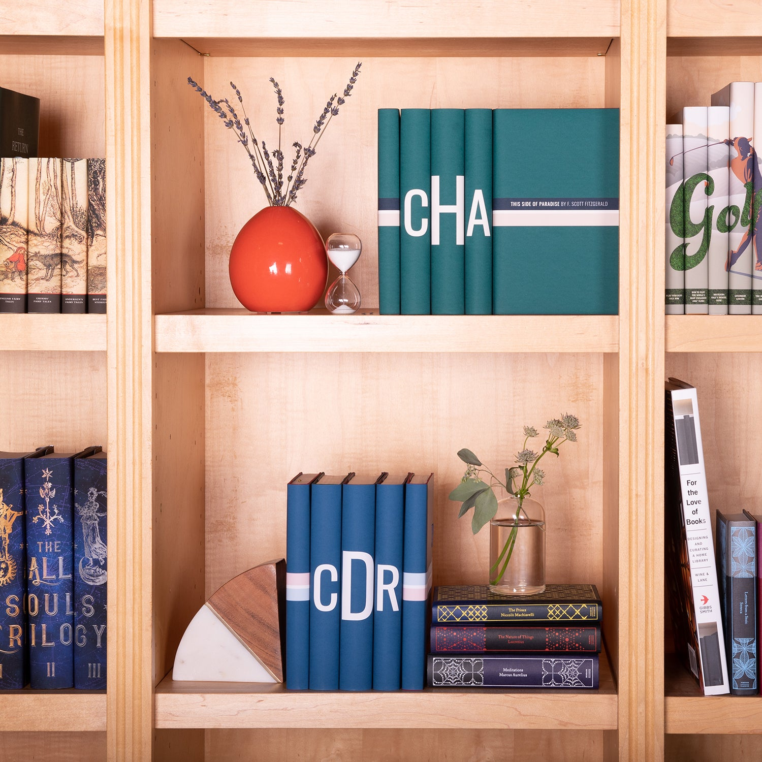 Modern Monogram Book Set
