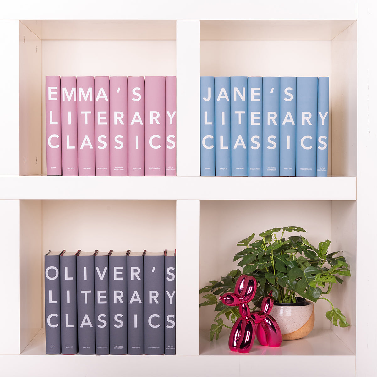 Personalized Modern Classics Set