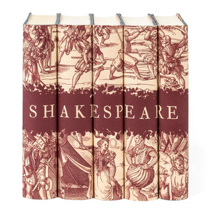 William Shakespeare Engraving Book Set