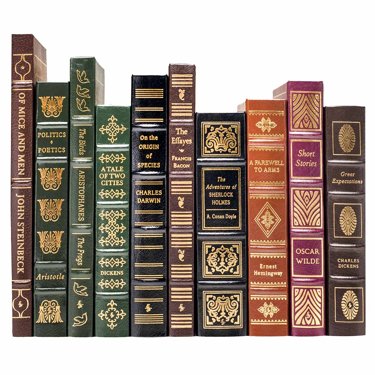 books leather modern press easton greatest classic complete classics collection bound binding spines series written ever library juniperbooks foot spine