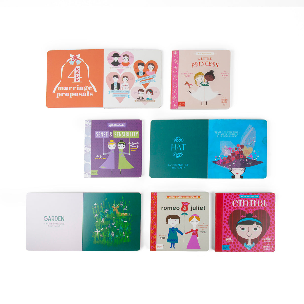 BabyLit: Stories of Love Banded Book Set