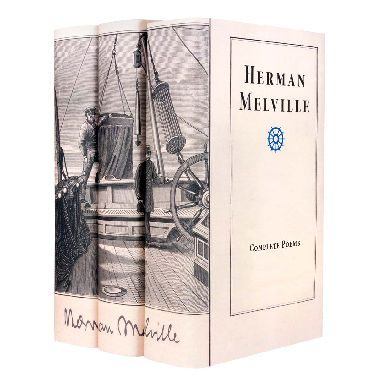 Herman Melville Nautical Engraving Set