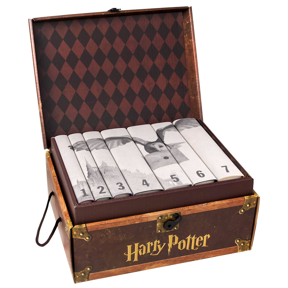 Harry Potter Hogwarts Set with Custom Flap Text