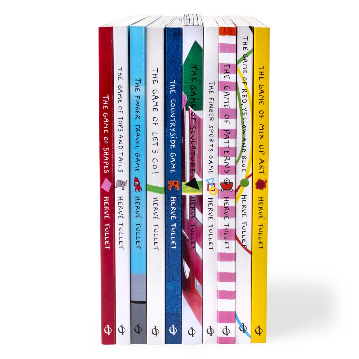 Hervé Tullet – 10 Book Set