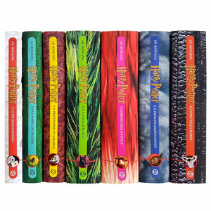 Italian Edition Harry Potter Sets - Jackets Only
