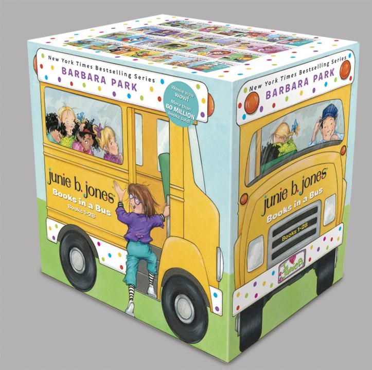 Publisher Boxed Set: Junie B. Jones Books in a Bus