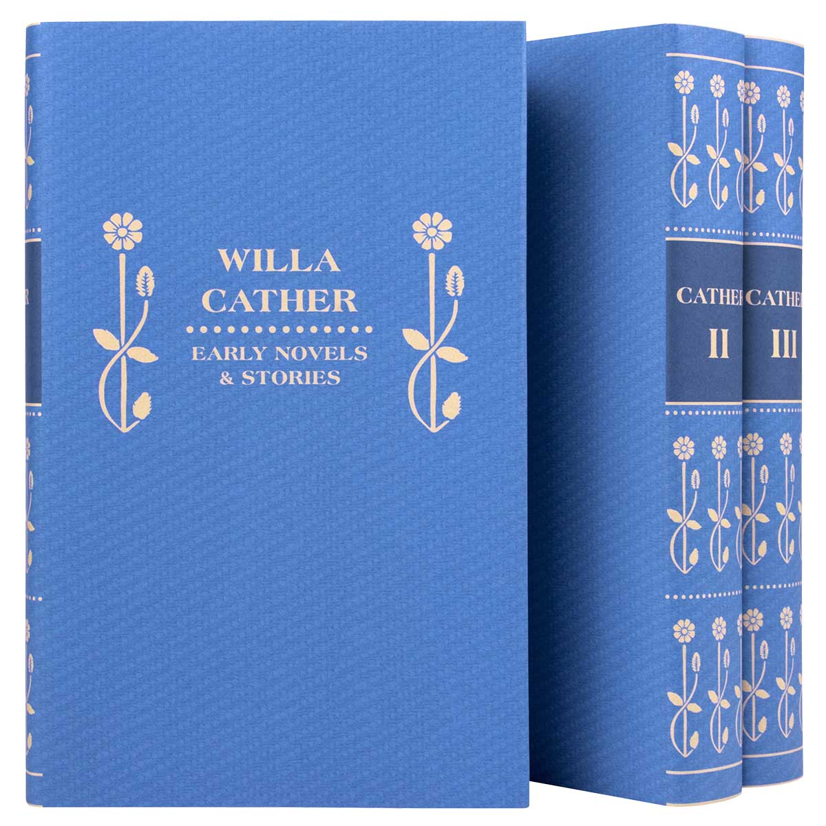 Willa Cather Set - Cornflower Blue