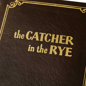 Leather Bound Catcher in the Rye