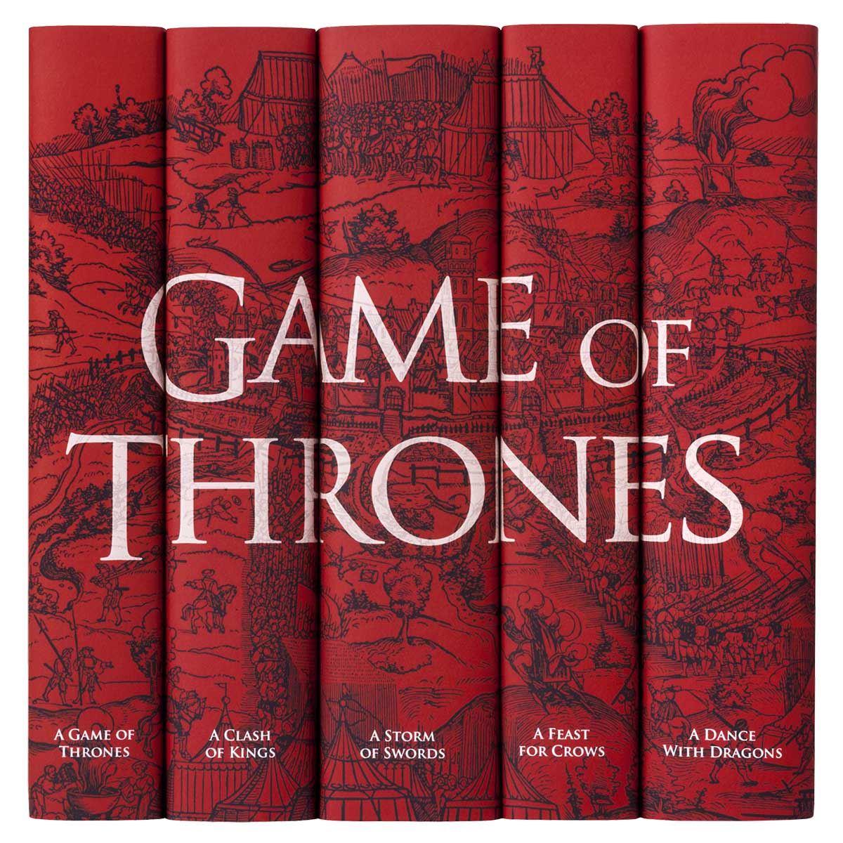 Game of Thrones - Blood Red Set
