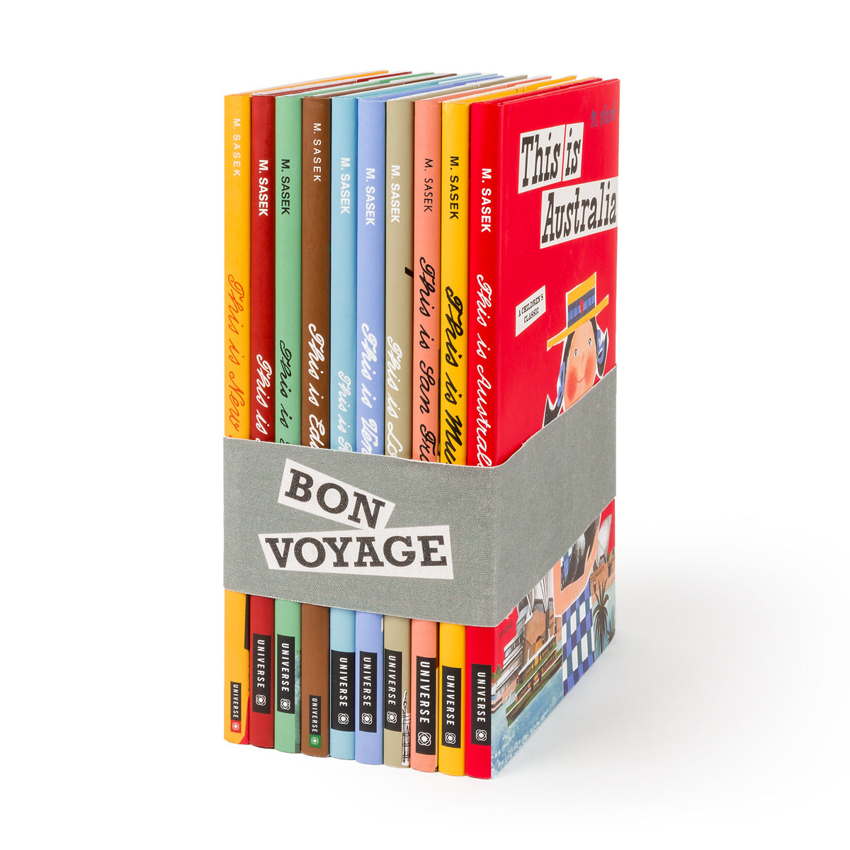 "Bon Voyage: ""This Is"" Children's Travel Series"