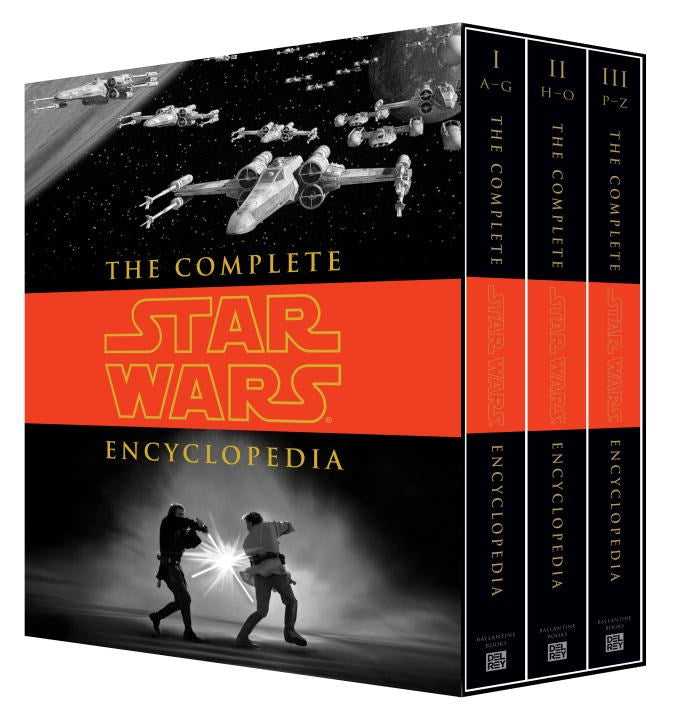 Publisher Boxed Set: The Complete Star Wars Encyclopedia (Revised)