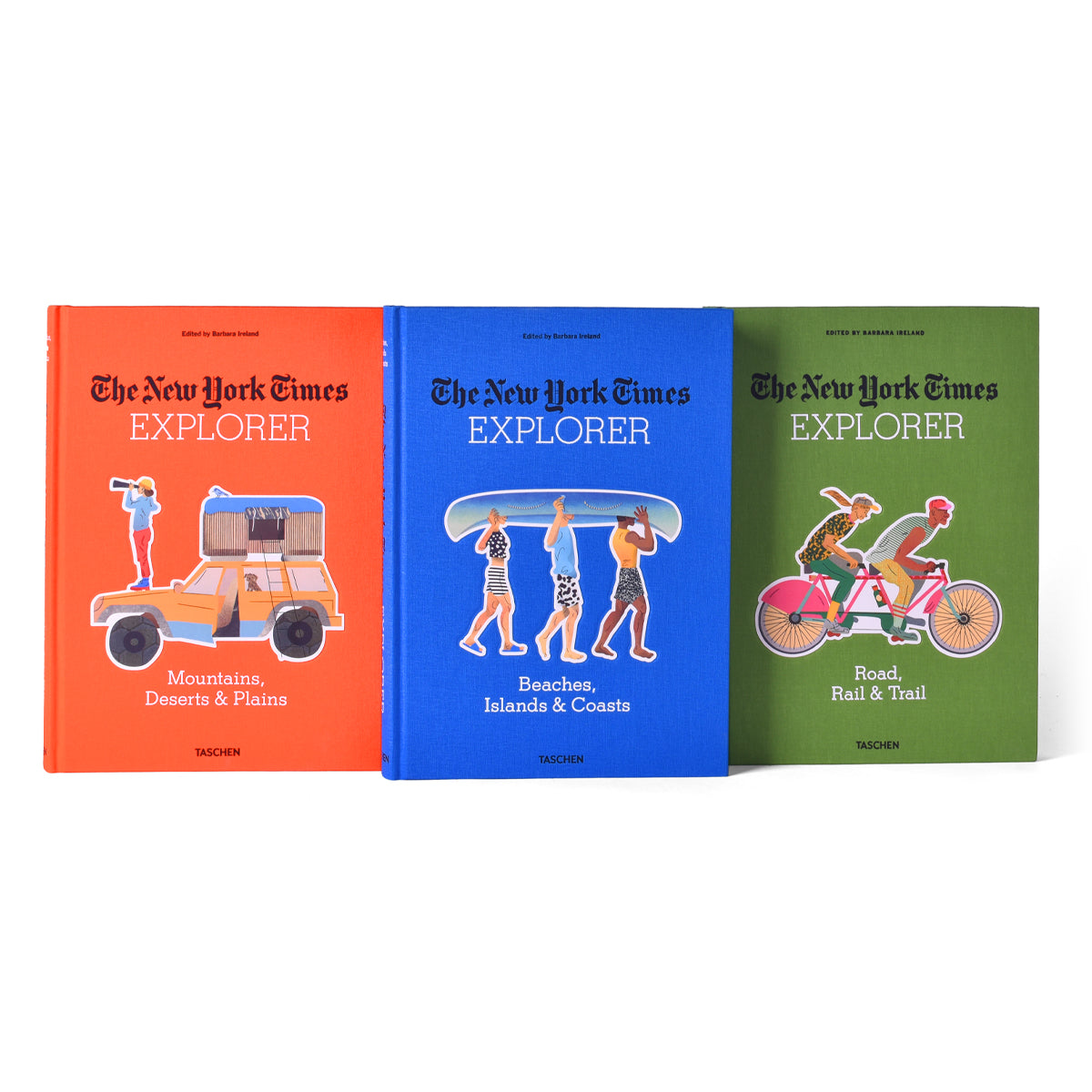 Taschen New York Times Explorer Book Set