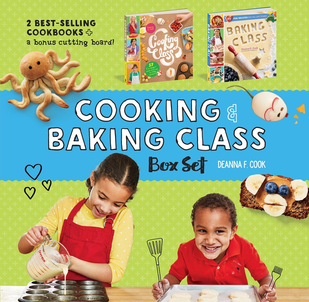 Publisher Boxed Set: Cooking & Baking Class