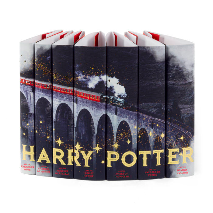Harry Potter Train Book Jackets Only Set