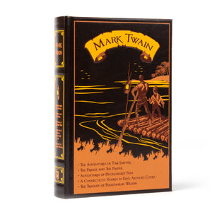 Five Novels by Mark Twain by Mark Twain