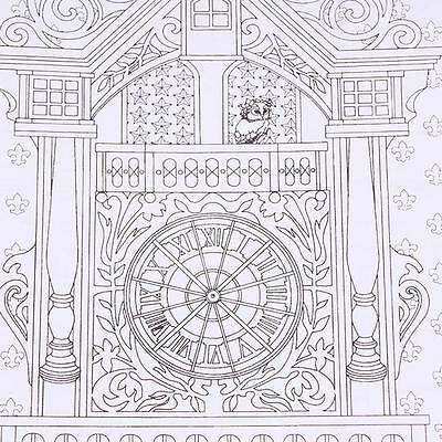 Time Travel Coloring Book For Children