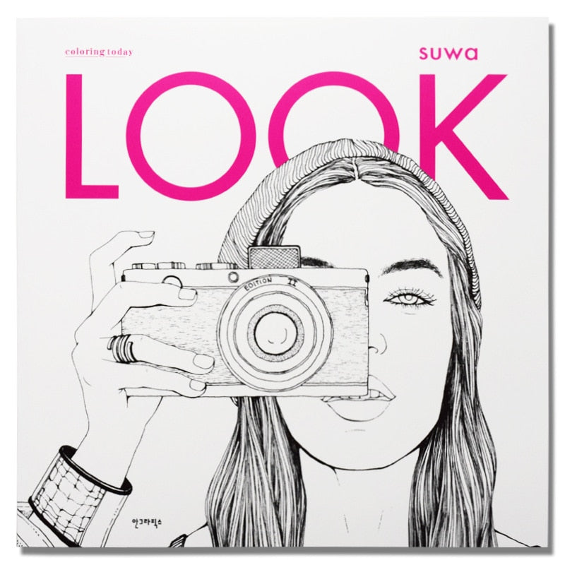 - Look Fashion Coloring Book – Limelight Publishing