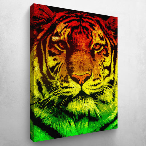 Eye of The Rasta Tiger